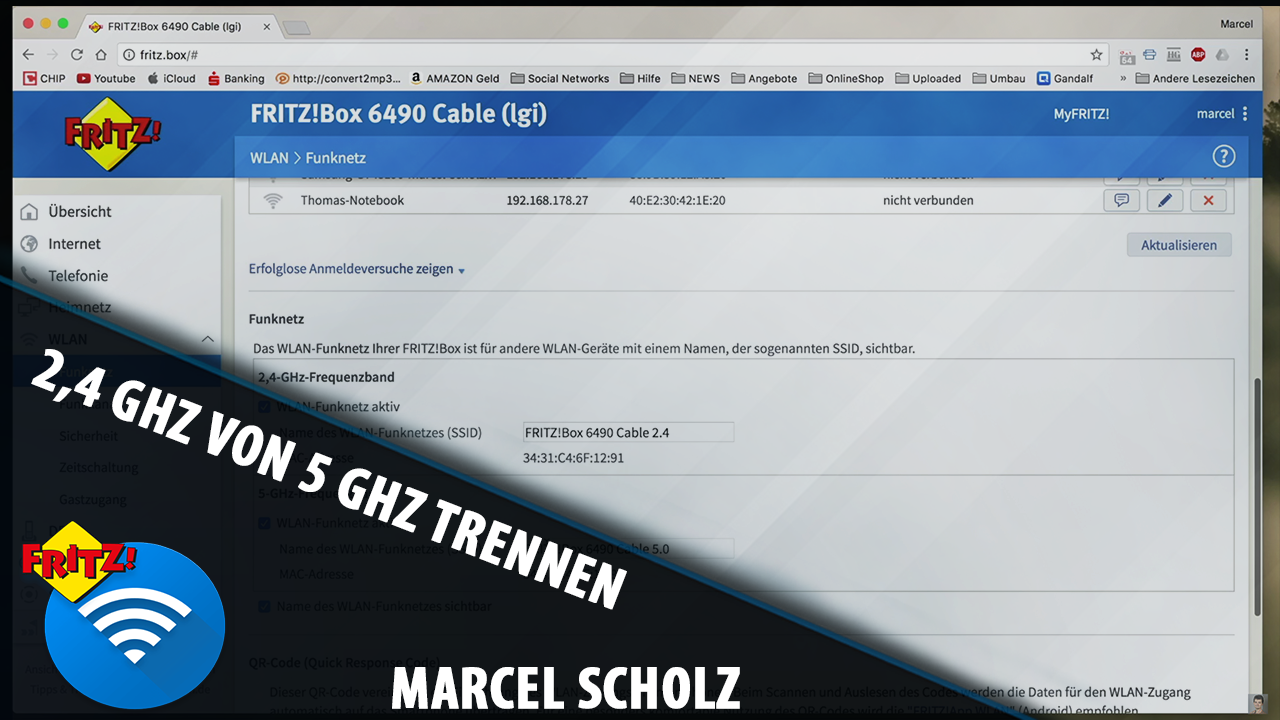 Fritzbox Auf 5ghz Umstellen